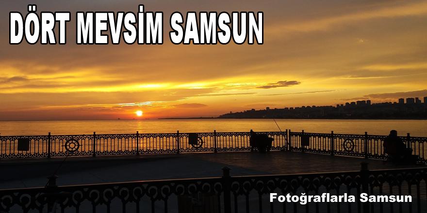 Dört mevsim Samsun