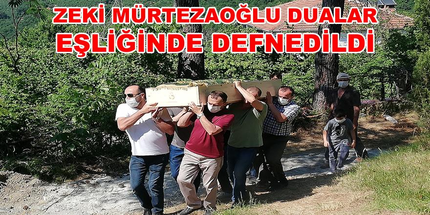 Zeki Mürtezaoğlu, Dualar Eşliğinde Defnedildi