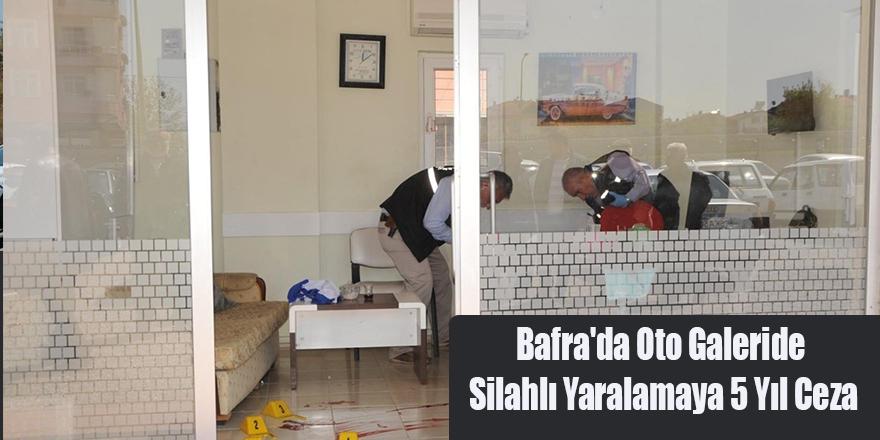Bafra'da Oto Galeride Silahlı Yaralamaya 5 Yıl Ceza