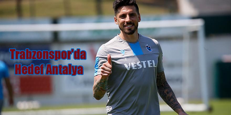 Trabzonspor'da Hedef Antalya