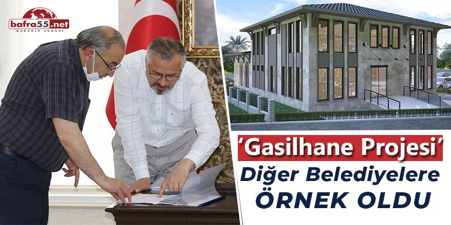 Gasilhane Projesi Diğer Belediyelere Örnek Oldu