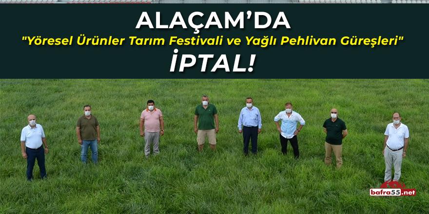 Alaçam'da Yöresel Ürünler Tarım Festivali ve Yağlı Pehlivan Güreşleri İptal!