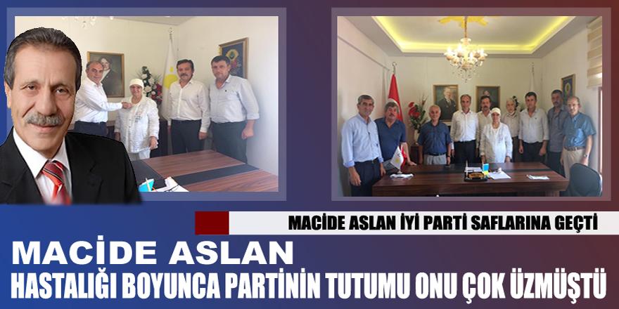 Efsane Başkan Hasan Aslan'ın eşi İYİ Partiye Katıldı