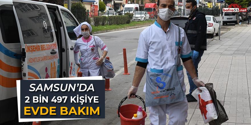 Samsun'da 2 Bin 497 Kişiye Evde Bakım