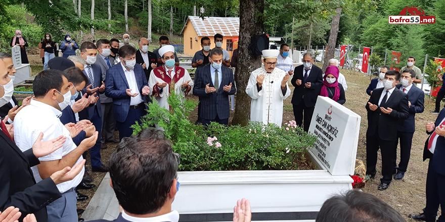 15 Temmuz Şehidi Sinop'taki Kabri Başında Anıldı