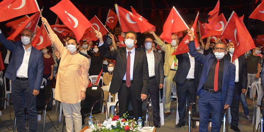 Sinop'ta 15 Temmuz Demokrasi ve Milli Birlik Günü