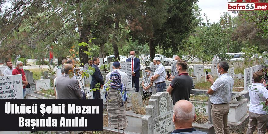 Ülkücü Şehit Mezarı Başında Anıldı