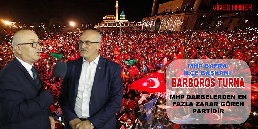 MHP Darbelerden En Çok Zarar Görmüş Partidir.