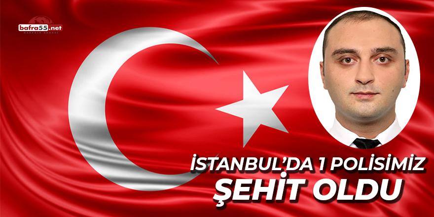İstanbul'da 1 Polis Şehit Oldu 1 Polis Yaralı