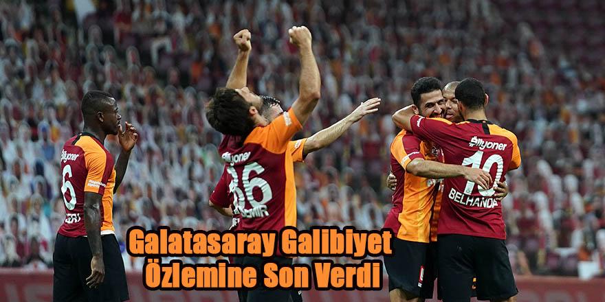 Galatasaray Galibiyet Özlemine Son Verdi
