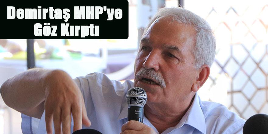 Necattin Demirtaş MHP'ye Göz Kırptı