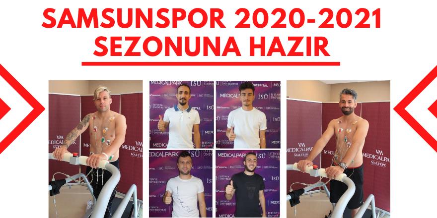 Samsunspor 2020-2021 Sezonuna Hazır