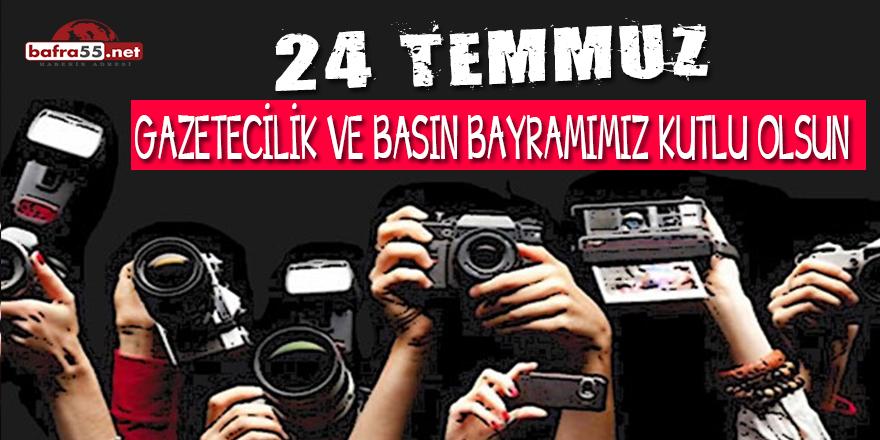 24 Temmuz Gazetecilik ve Basın Bayramı
