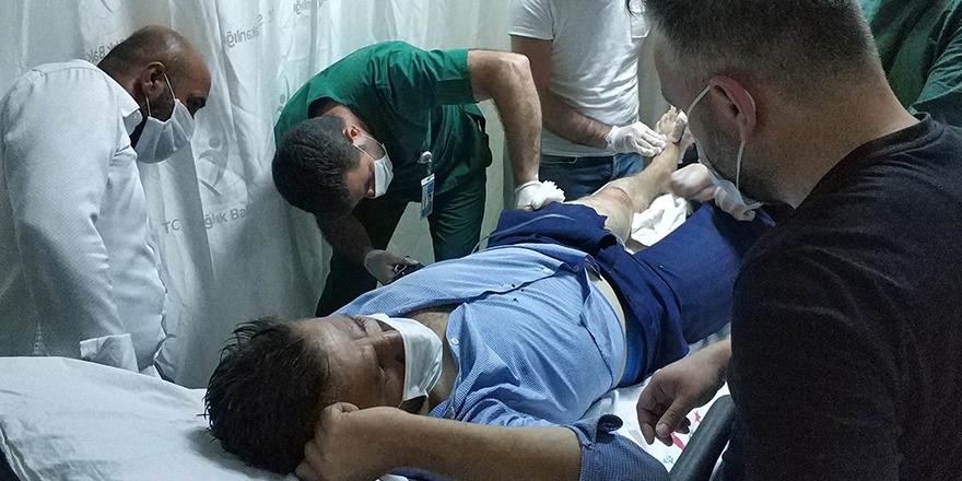 Ağabeyi Tarafından Vurulan Şahıs Hastaneye kaldırıldı