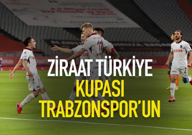 Kupa Trabzonspor'un