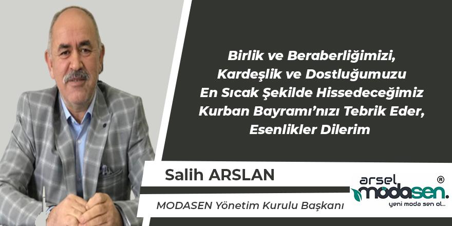 Salih Arslan'ın Bayram Mesajı