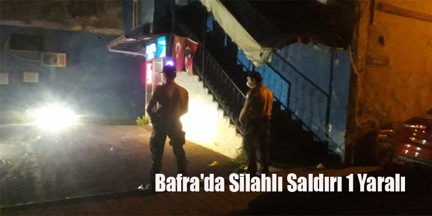 Bafra'da Silahlı Saldırı 1 Yaralı
