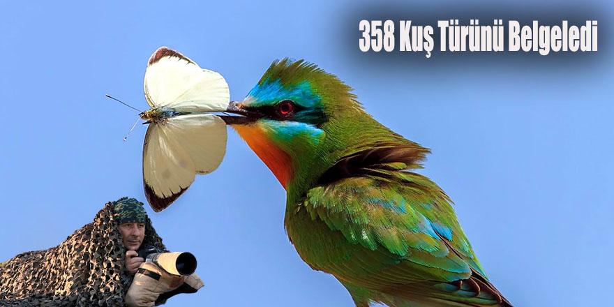 358 Kuş Türünü Belgeledi