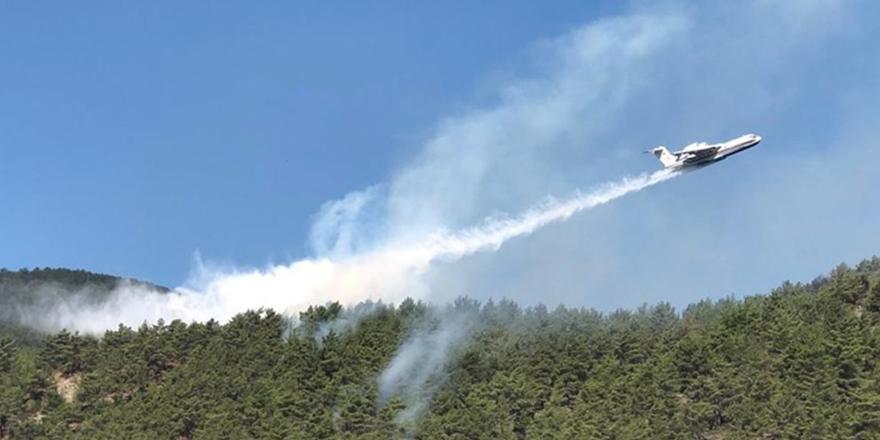 Durağan'da Çıkan Yangın Kontrol Altına Alındı