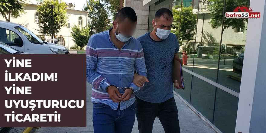 Samsun'da Uyuşturucu Ticareti!