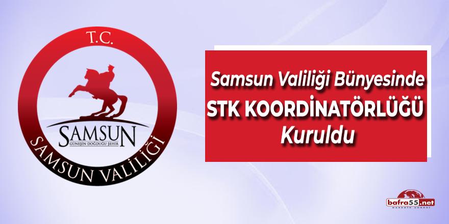 Samsun Valiliği Bünyesinde STK Koordinatörlüğü Kuruldu