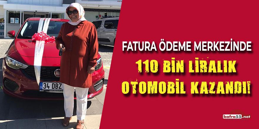 Fatura Ödeme Merkezinde 110 Bin Liralık Otomobil Kazandı!