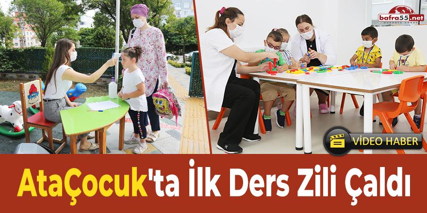 Ataçocuk'ta İlk Ders Zili Çaldı
