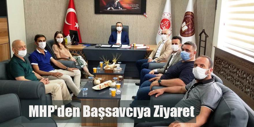Bafra MHP'den Başsavcıya Ziyaret