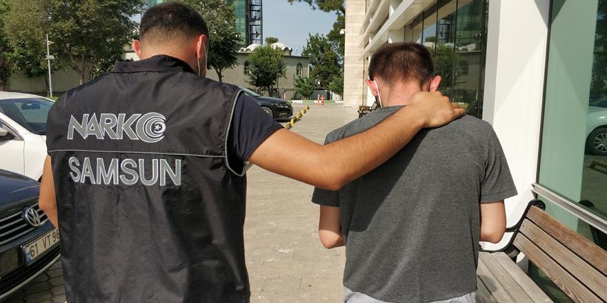 Uyuşturucu ile yakalanan şahıs tutuklandı