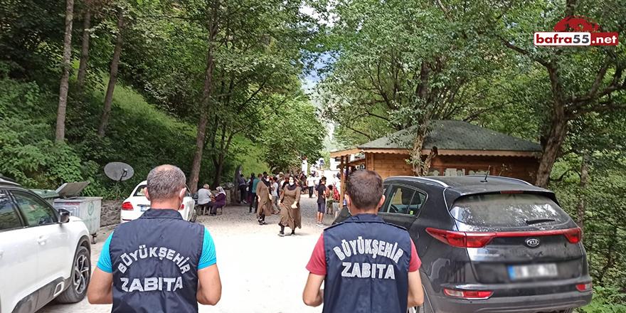 Trabzon'da Koronavirüs Denetimleri