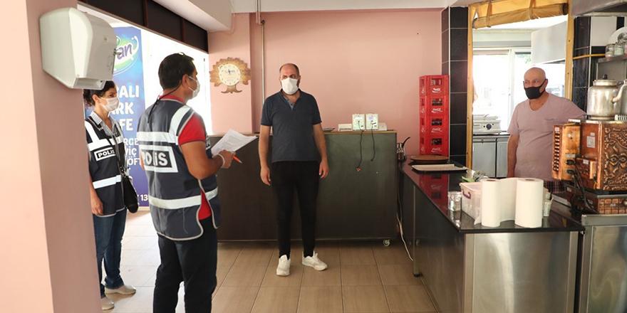 Samsun'da 106 bin 897 TL korona cezası