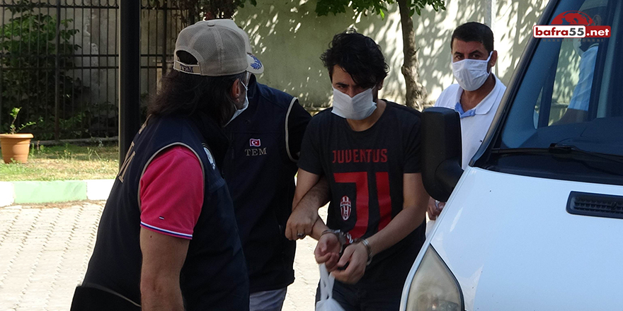 Samsun'da DEAŞ Şüphelisi 2 Kişi Adliyeye Sevk Edildi