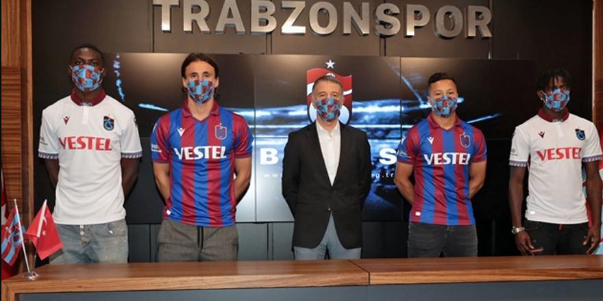 Trabzonspor'da 4 imza