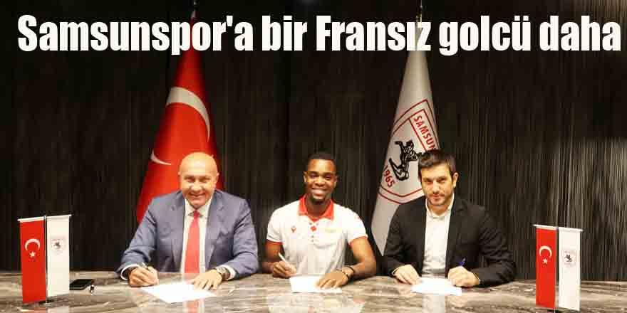 Samsunspor'a bir Fransız golcü daha