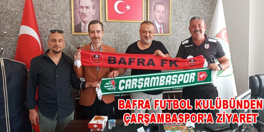 1988 Bafra Futbol Kulübünden Çarşambasor'a Ziyaret