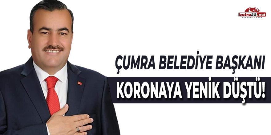 Çumra Belediye Başkanı Koronaya Yenik Düştü!