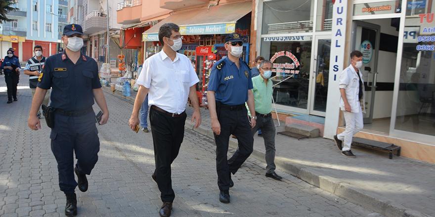 19 Mayıs İlçesinde Maske denetimleri aralıksız devam ediyor