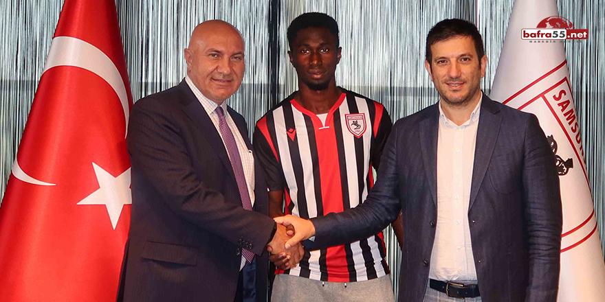 Samsunspor'a 3. Yabancı Oyuncu Transferi