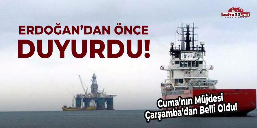 Erdoğan'dan Önce Duyurdu!