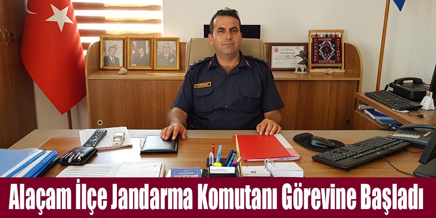 Alaçam İlçe Jandarma Komutanı Görevine Başladı
