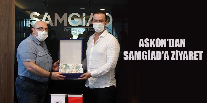 ASKON'DAN SAMGİAD'A ZİYARET