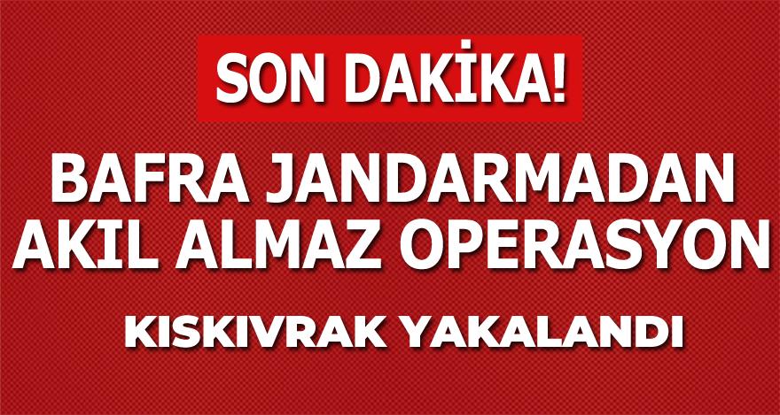 İstanbul'dan Çıktı Bafra'da Yakalandı