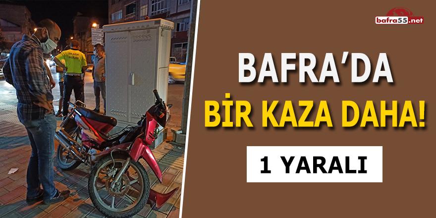 Bafra'da Bir Kaza Daha! 1 Yaralı