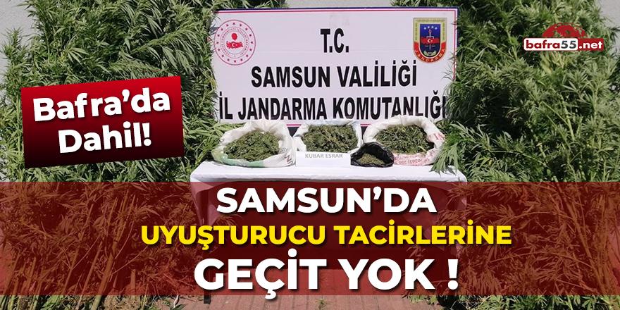 Samsun'da Uyuşturucu Tacirlerine Geçit Yok!
