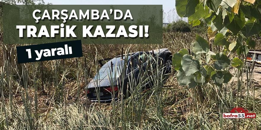 Çarşamba'da Trafik Kazası!
