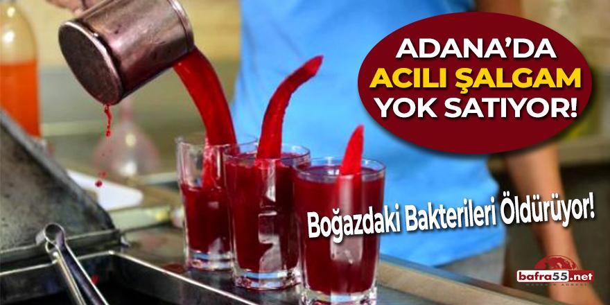 Adana'da Acılı Şalgam Yok Satıyor!
