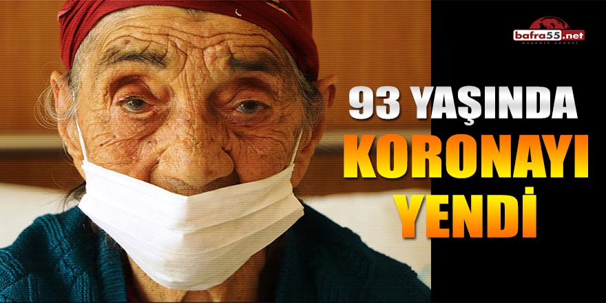 93 Yaşında Koronayı Yendi