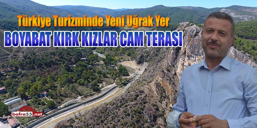 """Türkiye Turizminde Yeni Uğrak Yer """"Boyabat Kırk Kızlar Cam Terası"""""""