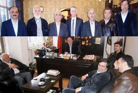 MHP'DEN STK ZİYARETLERİ