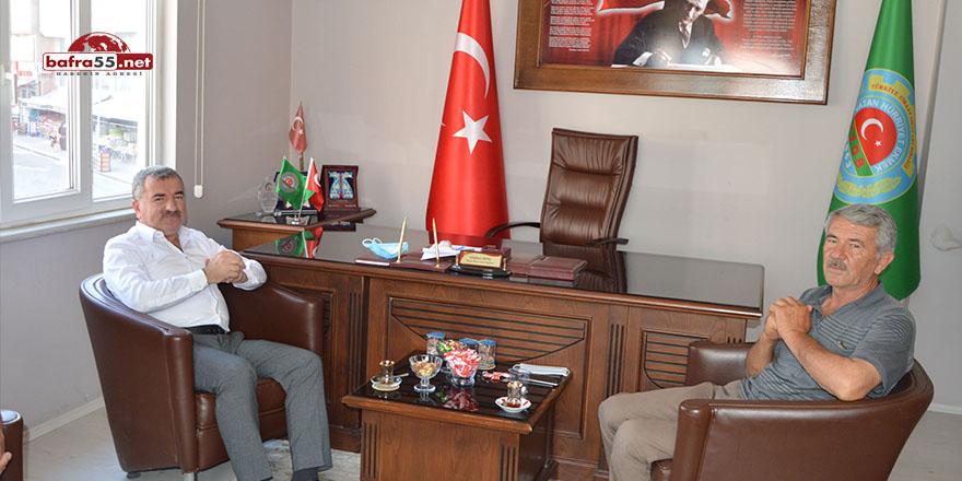 """Başkan Özdemir: """"Çiftçilerimizin yanındayız"""""""